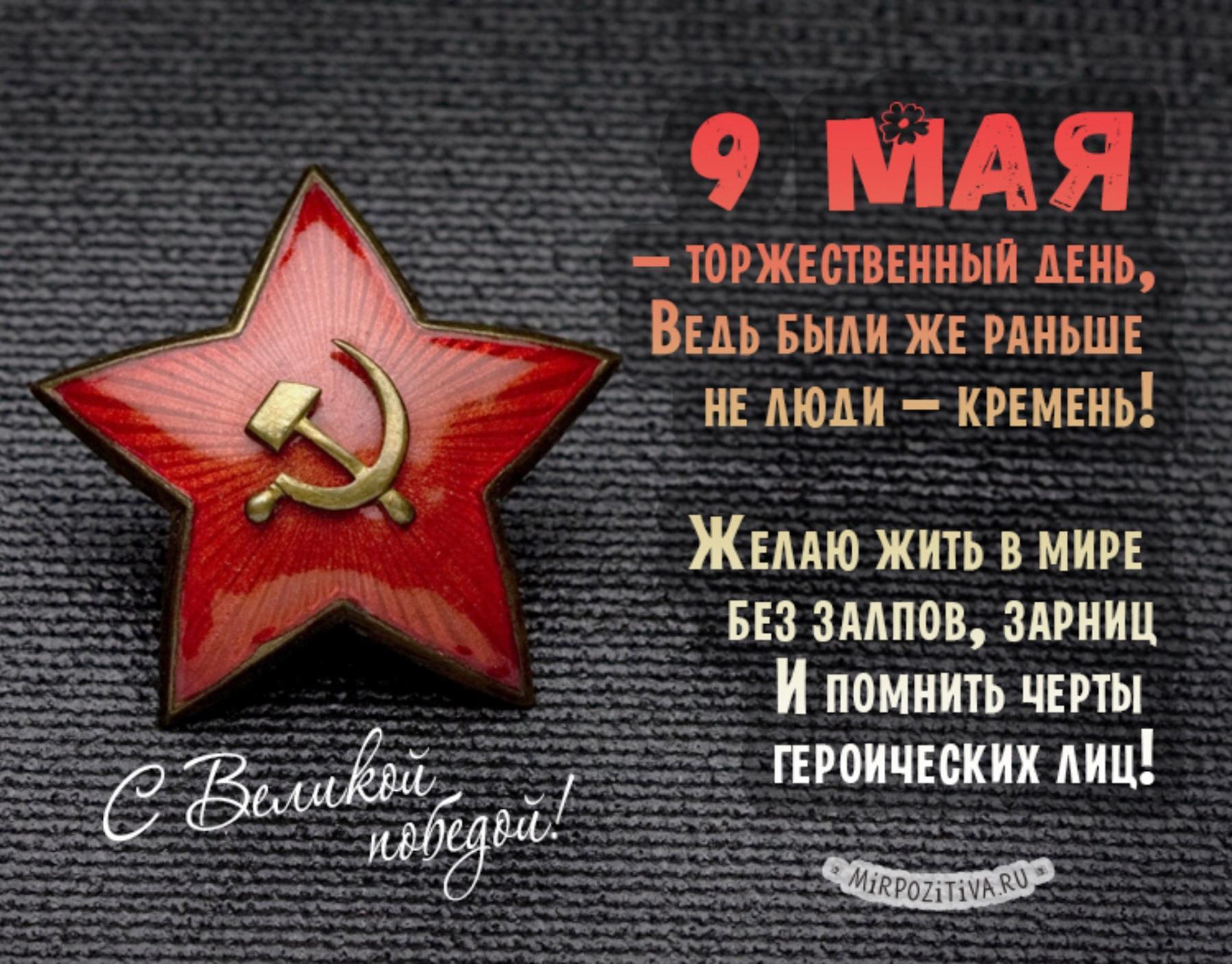 фото День Великой Победы: лучшие открытки и поздравления с 9 Мая 5