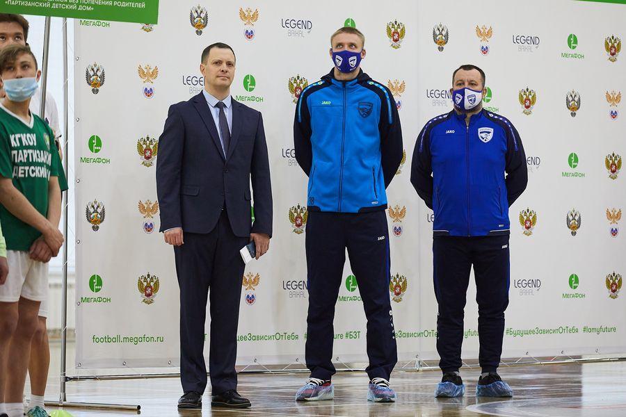 фото Путёвка в жизнь – футбол: благотворительный турнир от компании «МегаФон» прошёл в Новосибирске 2
