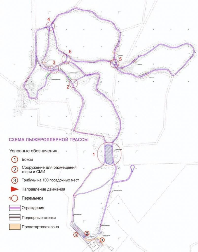 Фото В Самарской области началось строительство лыжероллерной трассы 2