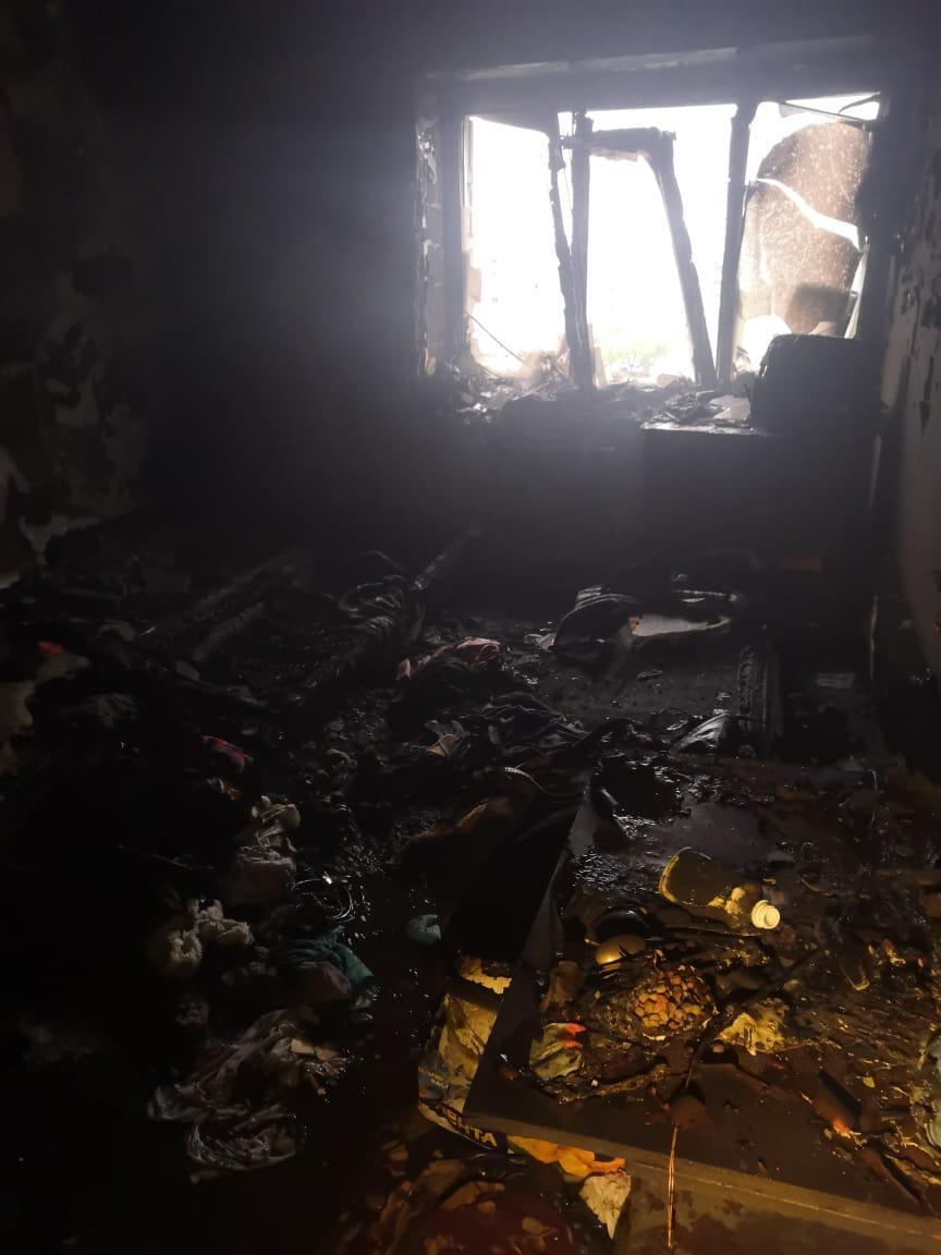 фото В Новосибирске горела комната в общежитии 3