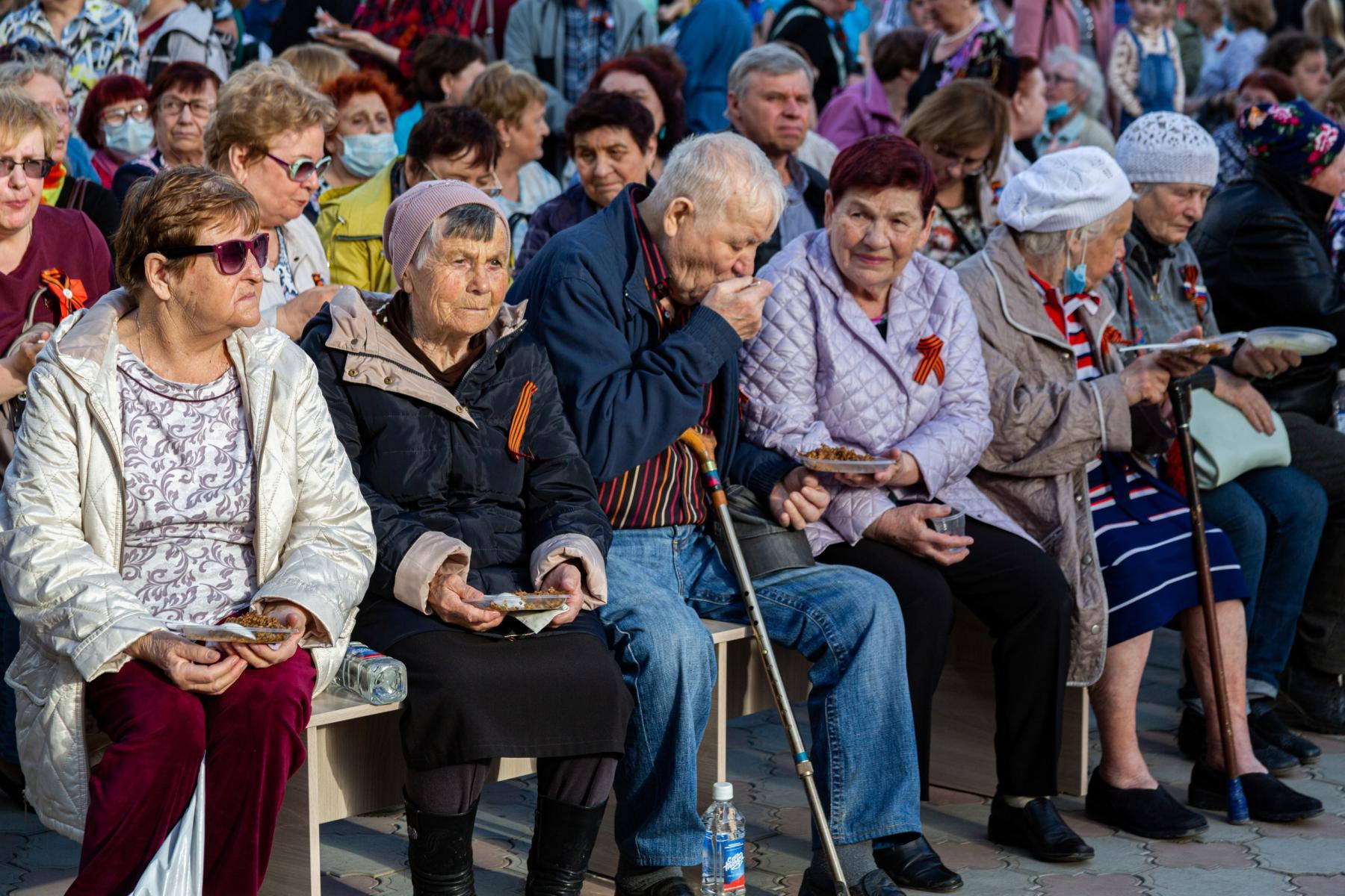 фото В Горском микрорайоне Новосибирска прошёл концерт в честь 9 Мая 2
