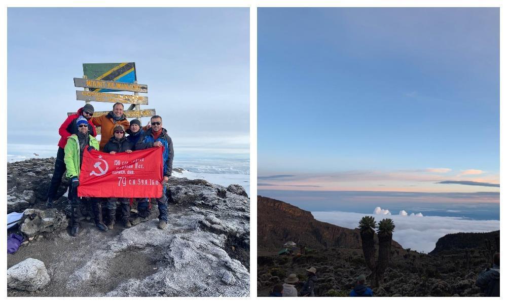 фото Знамя Победы на Килиманджаро, забытый ветеран, исчезновение министра здравоохранения, запрет на экспорт бензина и сокращение рабочей недели: главные события выходных 5