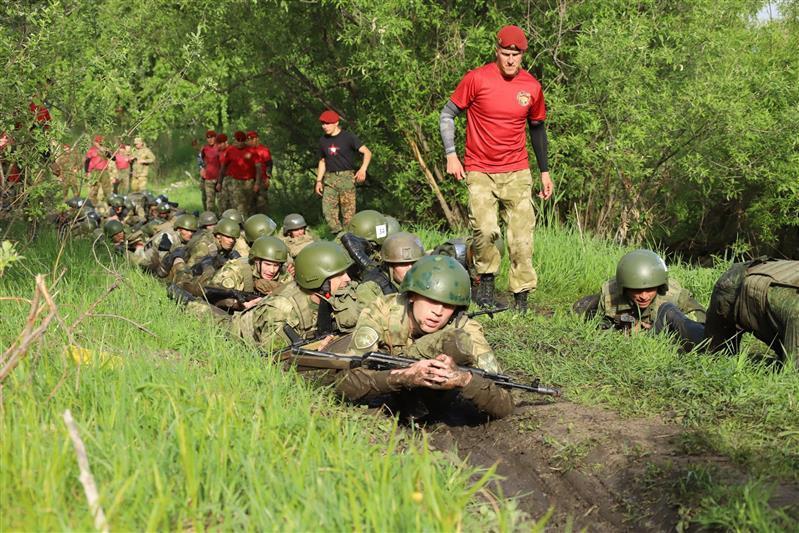 Фото В Сибири прошли соревнования среди военнослужащих спецподразделений Росгвардии 2