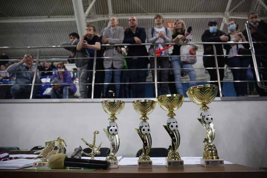 Фото Большая игра маленьких футболистов: в Новосибирске прошёл турнир «Крохабол-2021» 5