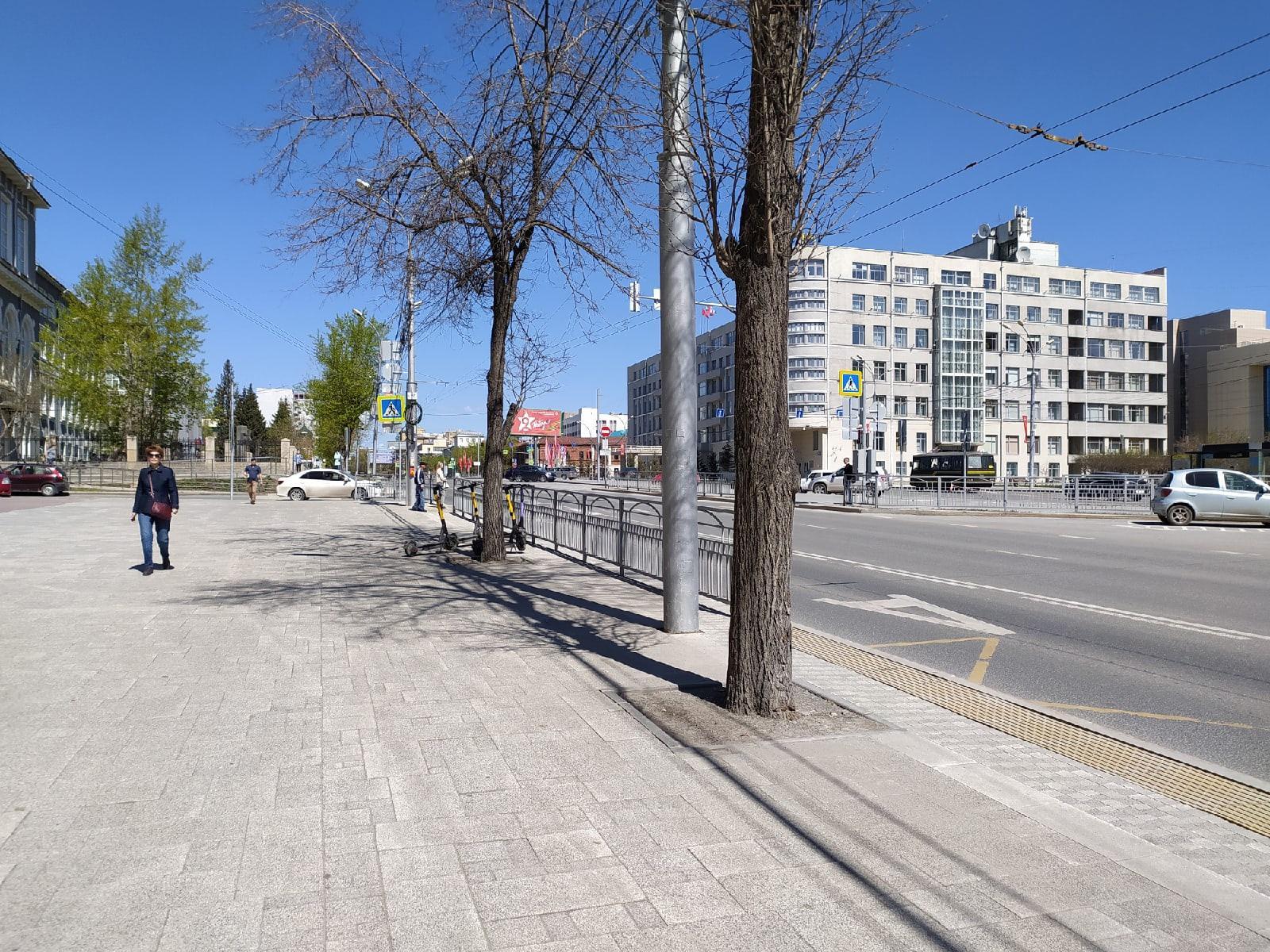 фото Новосибирск опустел после массовых гуляний на 9 Мая 2