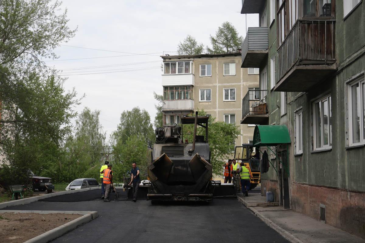 Фото В 54 дворах Новосибирска начались благоустроительные работы 2