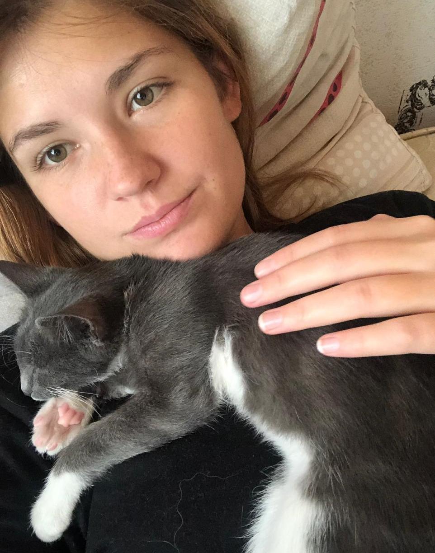 Фото «Сам ко мне пришёл и остался»: как десятый «Главный котик Томска» охраняет свою хозяйку и служит ей живым антистрессом 2
