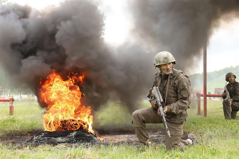 Фото В Сибири прошли соревнования среди военнослужащих спецподразделений Росгвардии 3