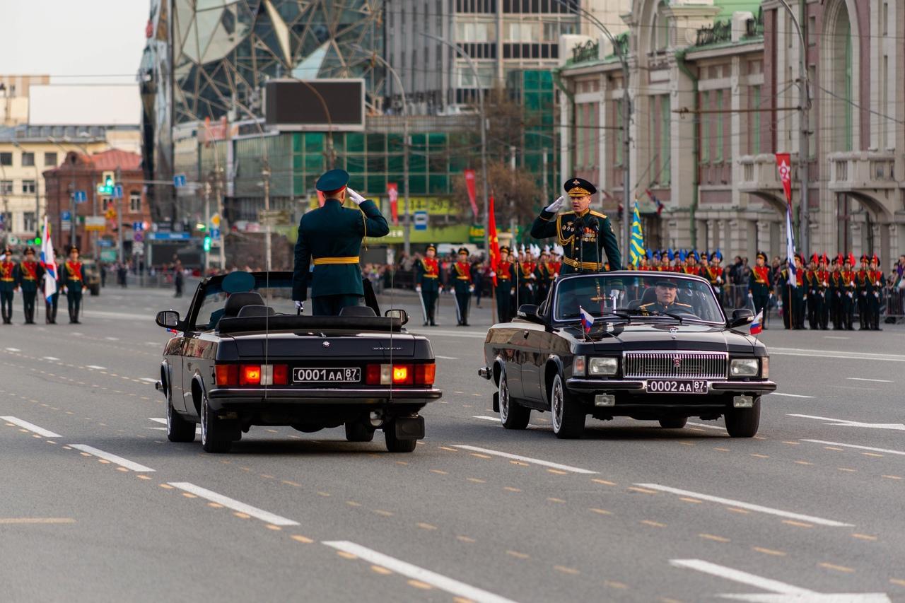 фото День Победы – 2021: онлайн-трансляция военного парада в Новосибирске 9 мая 2021 года