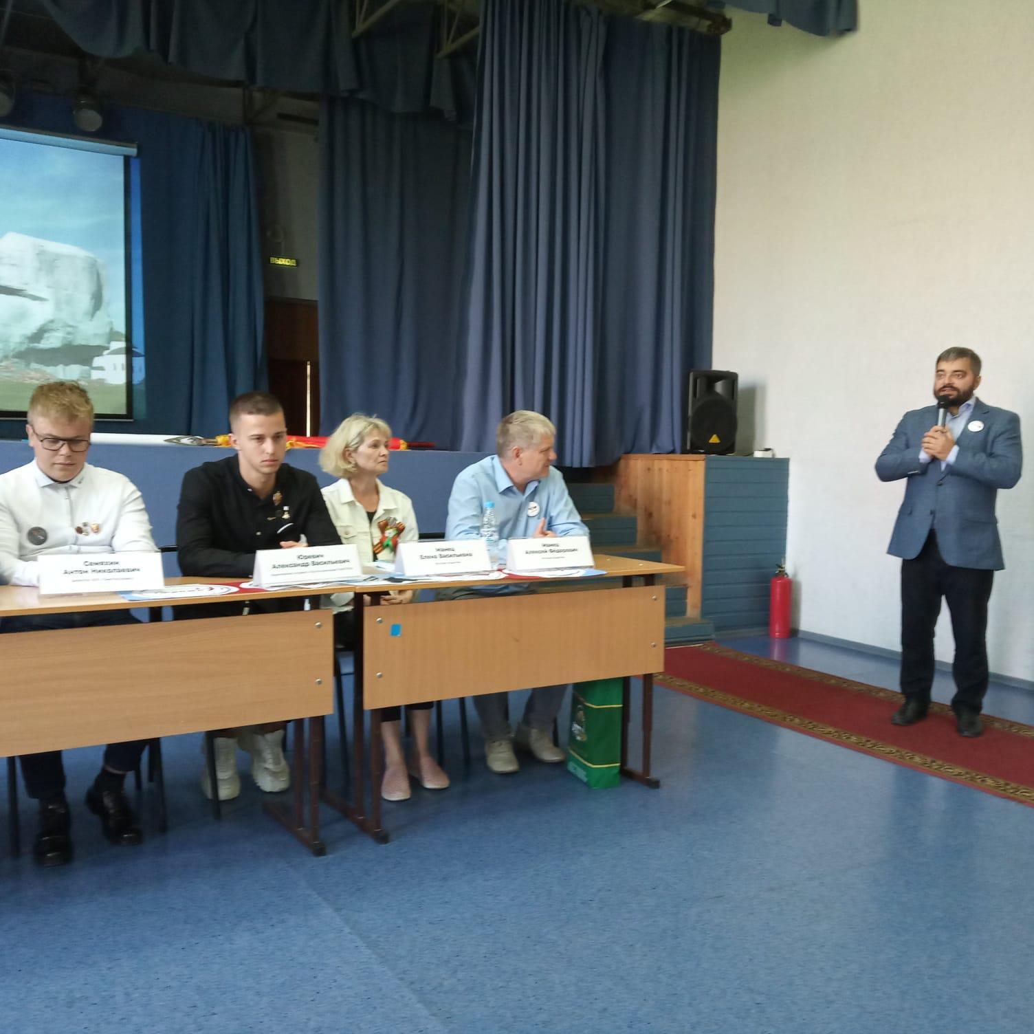 Фото Встречу участников автопробега Брест – Иркутск – Брест с кадетами помогли организовать новосибирские депутаты 2