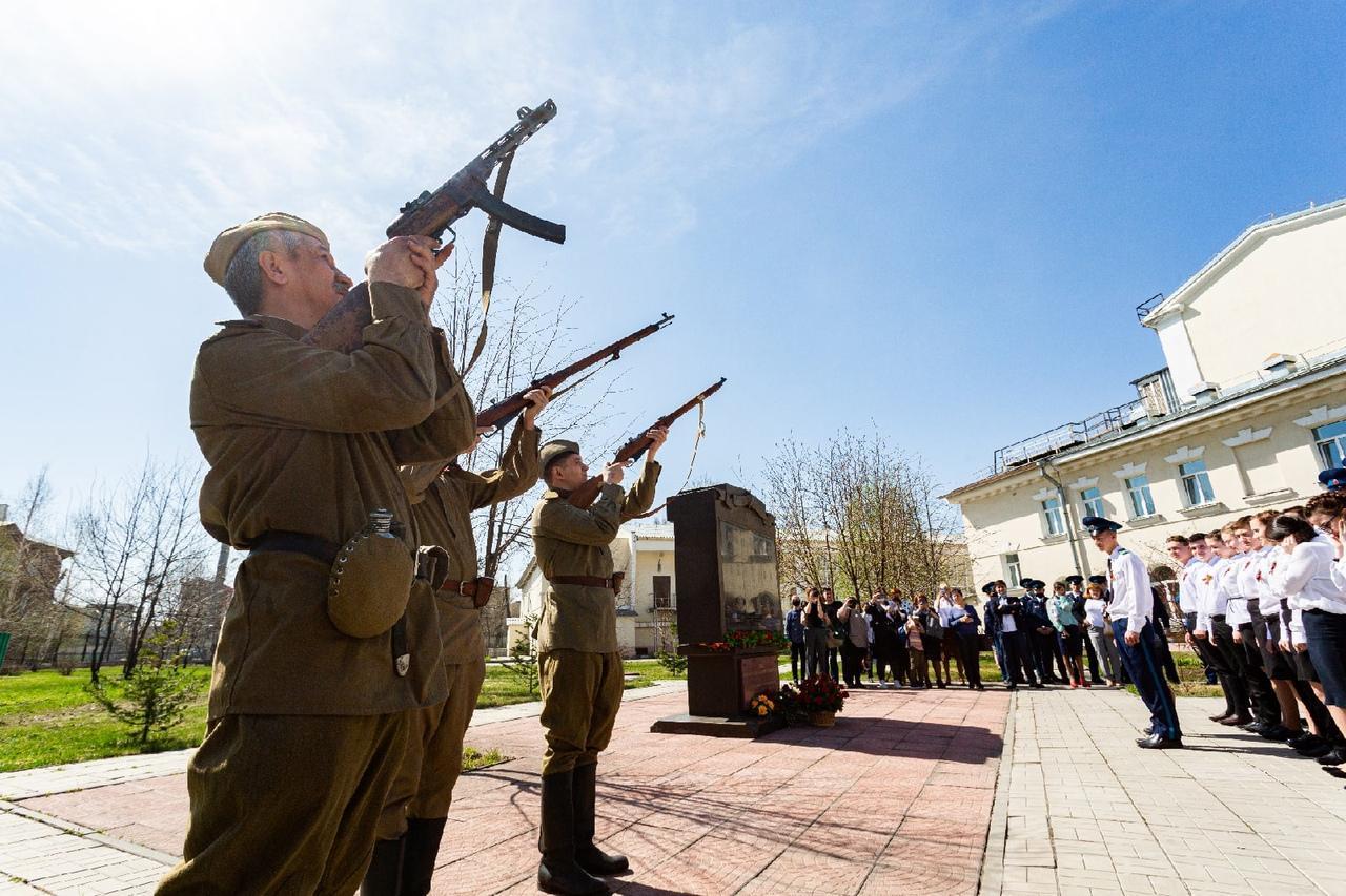 фото Новосибирские школьники почтят память погибших на «Безымянной высоте» в Калужской области 2