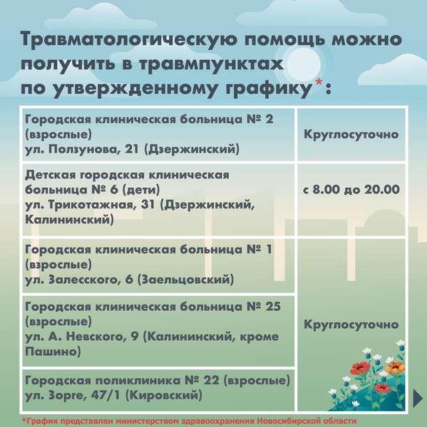 фото График работы поликлиник на майские праздники в 7 картинках в Новосибирске 4