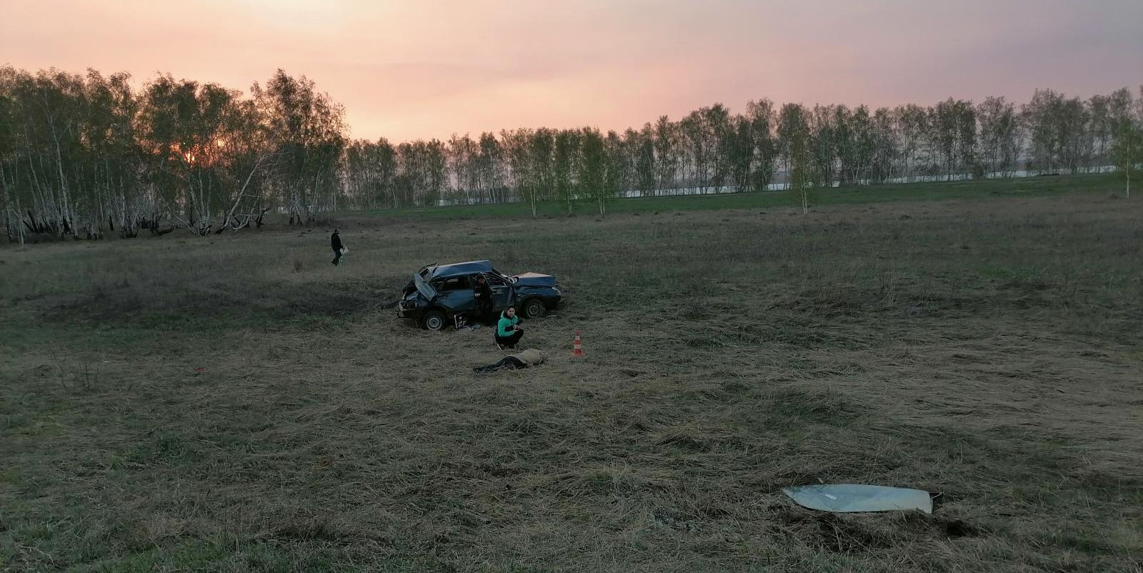 фото «Придётся учиться жить без мамы»: многодетная семья на «девятке» попала в автокатастрофу под Новосибирском 3