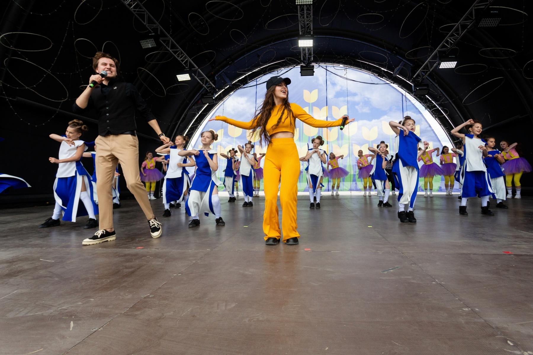 Фото Фестиваль тюльпанов открылся в Новосибирске 29 мая 2
