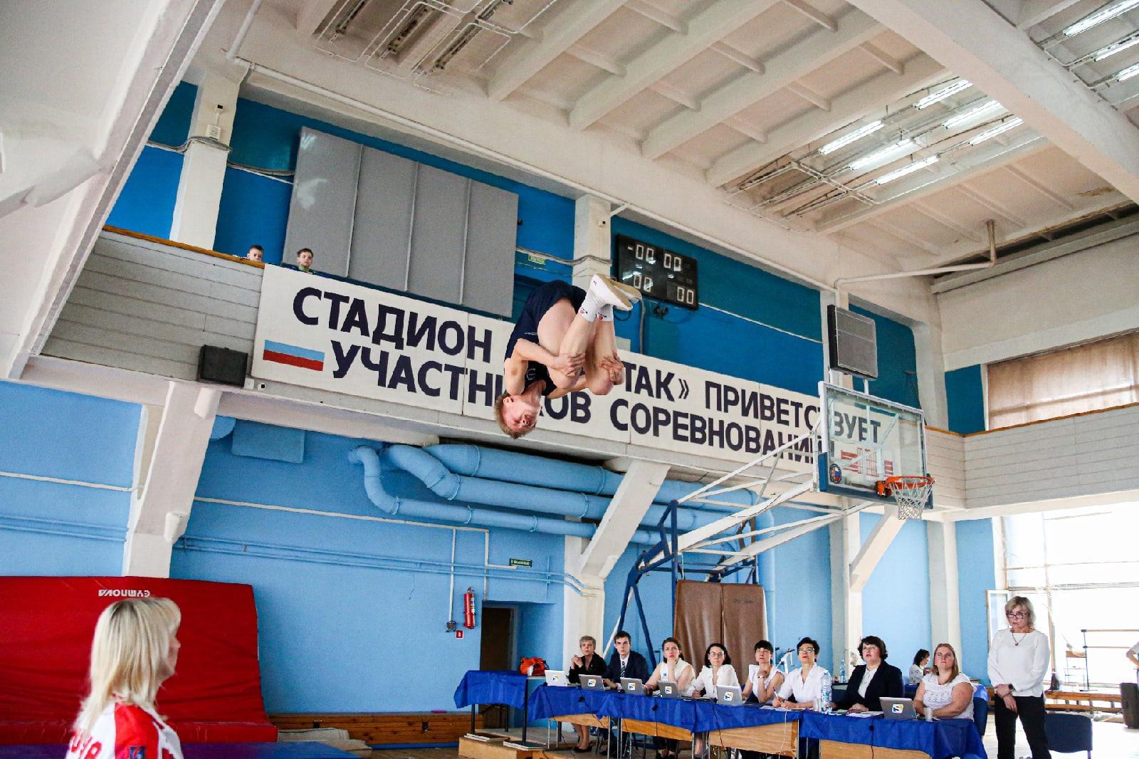 фото Всероссийские соревнования по прыжкам на батуте проходят в Новосибирске 13