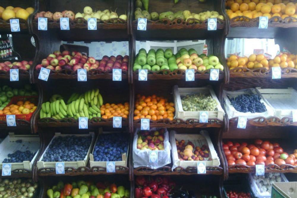 Поделки из овощей и фруктов фото собаки наиболее