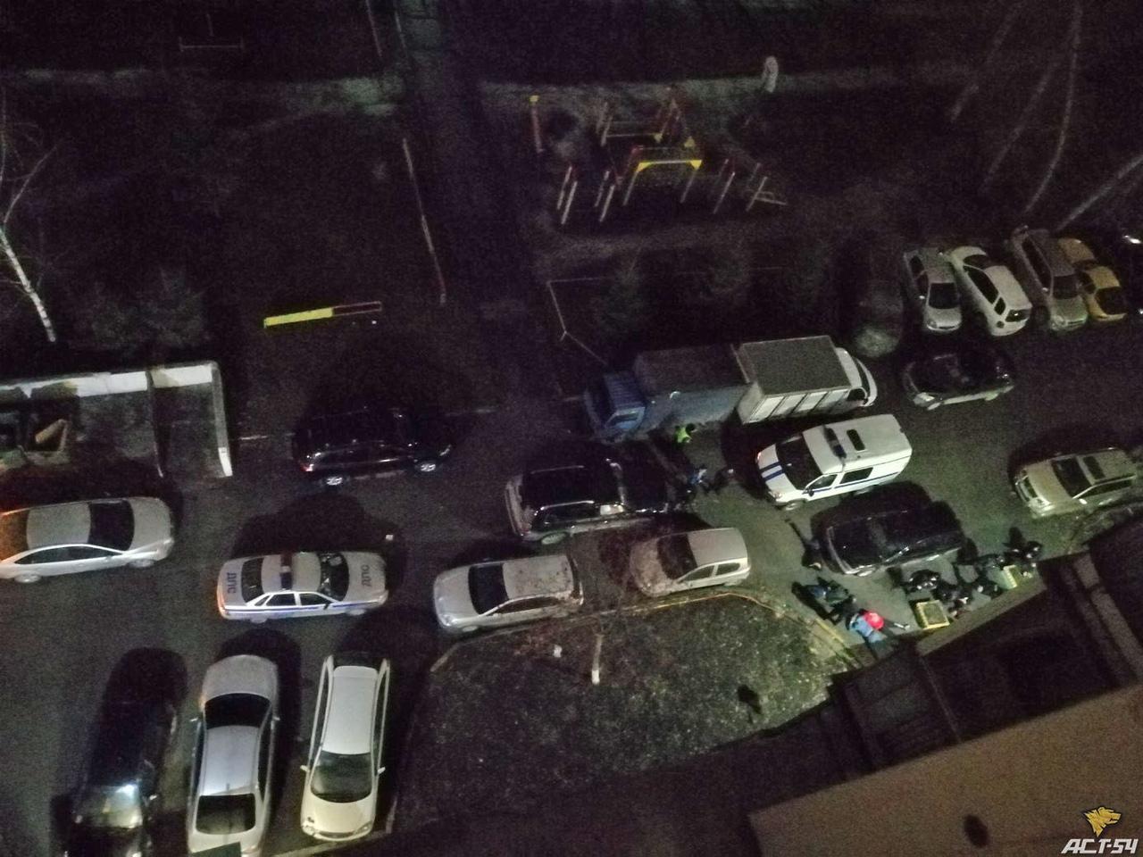 Фото Лицом в асфальт: полицейские «погасили» конфликт во дворе Новосибирска 2
