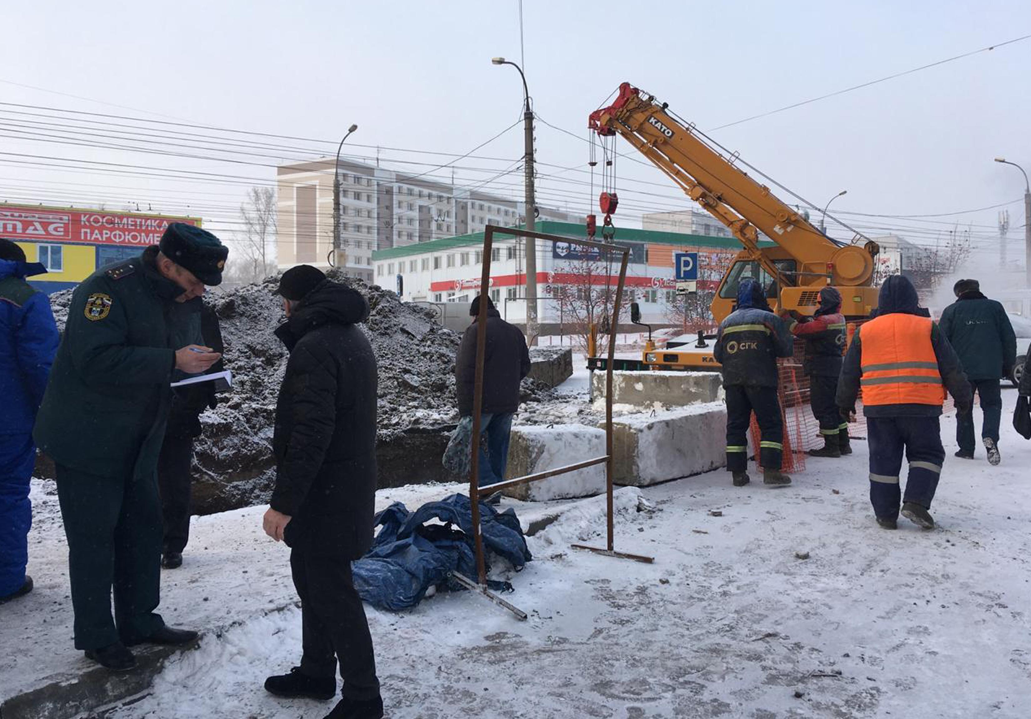 Отопление начали подавать в остывшие дома в Новосибирске
