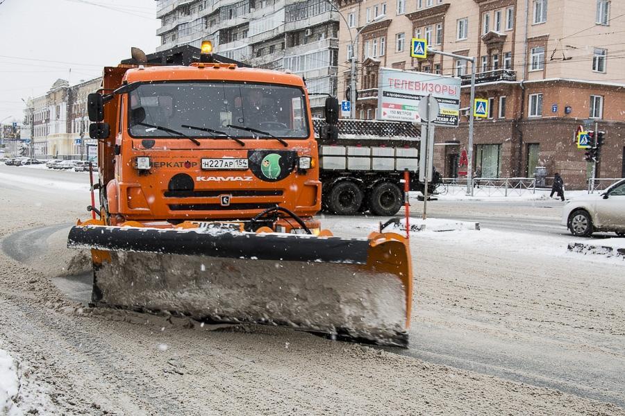 Фото Где будут чистить снег 17 ноября в Новосибирске: список улиц 2