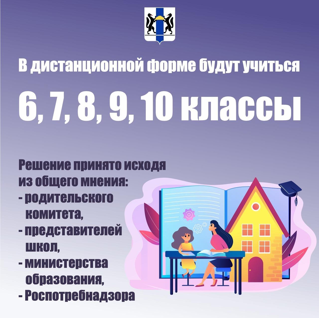 фото Как будут учиться школьники Новосибирска с 16 ноября: показываем в трёх карточках 4