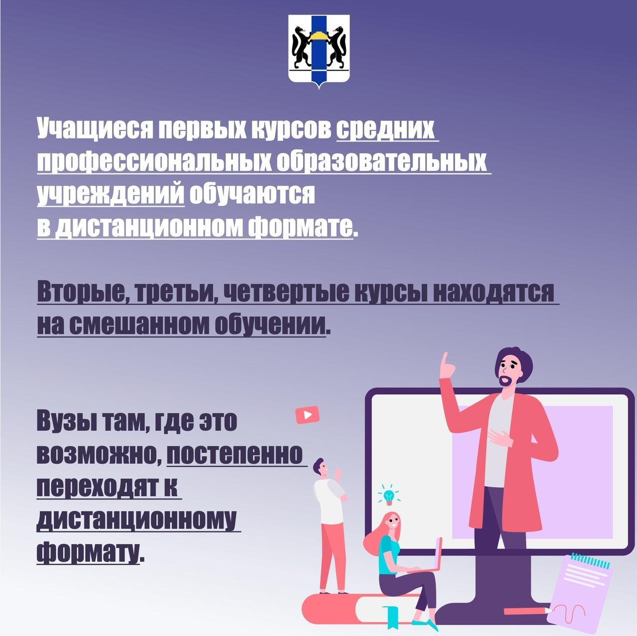 фото Как будут учиться школьники Новосибирска с 16 ноября: показываем в трёх карточках 5