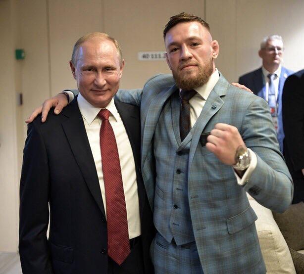 фото Конор Макгрегор VS Хабиб Нурмагомедов: бой за сердца сибиряков 6
