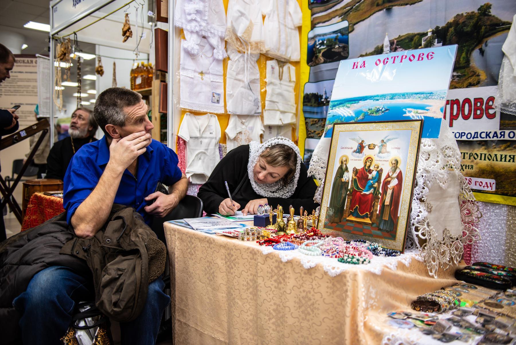 Фото «Этот Псалтырь – просто бестселлер!»: как новосибирцев зазывают на православную ярмарку 13