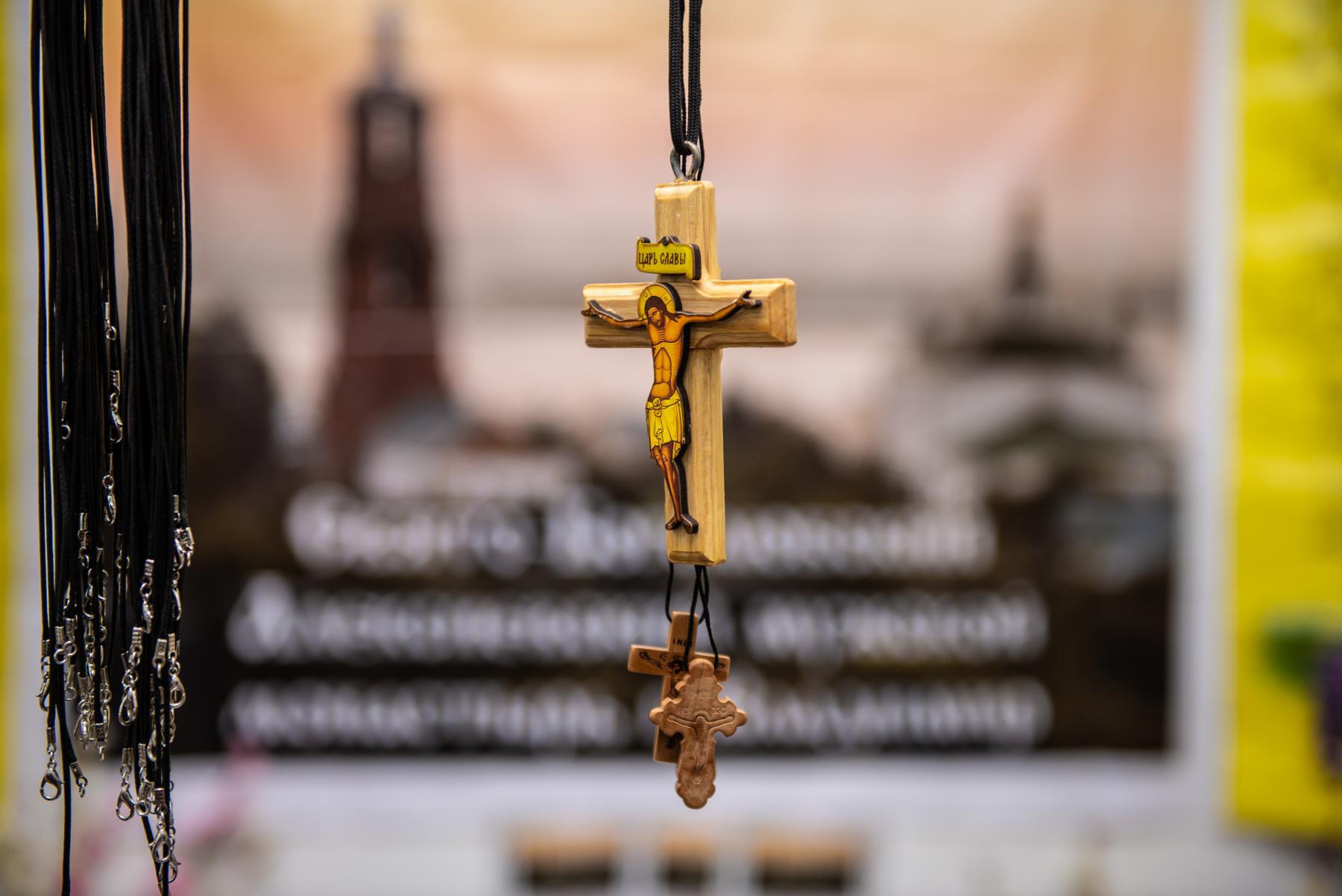 Фото «Этот Псалтырь – просто бестселлер!»: как новосибирцев зазывают на православную ярмарку 5