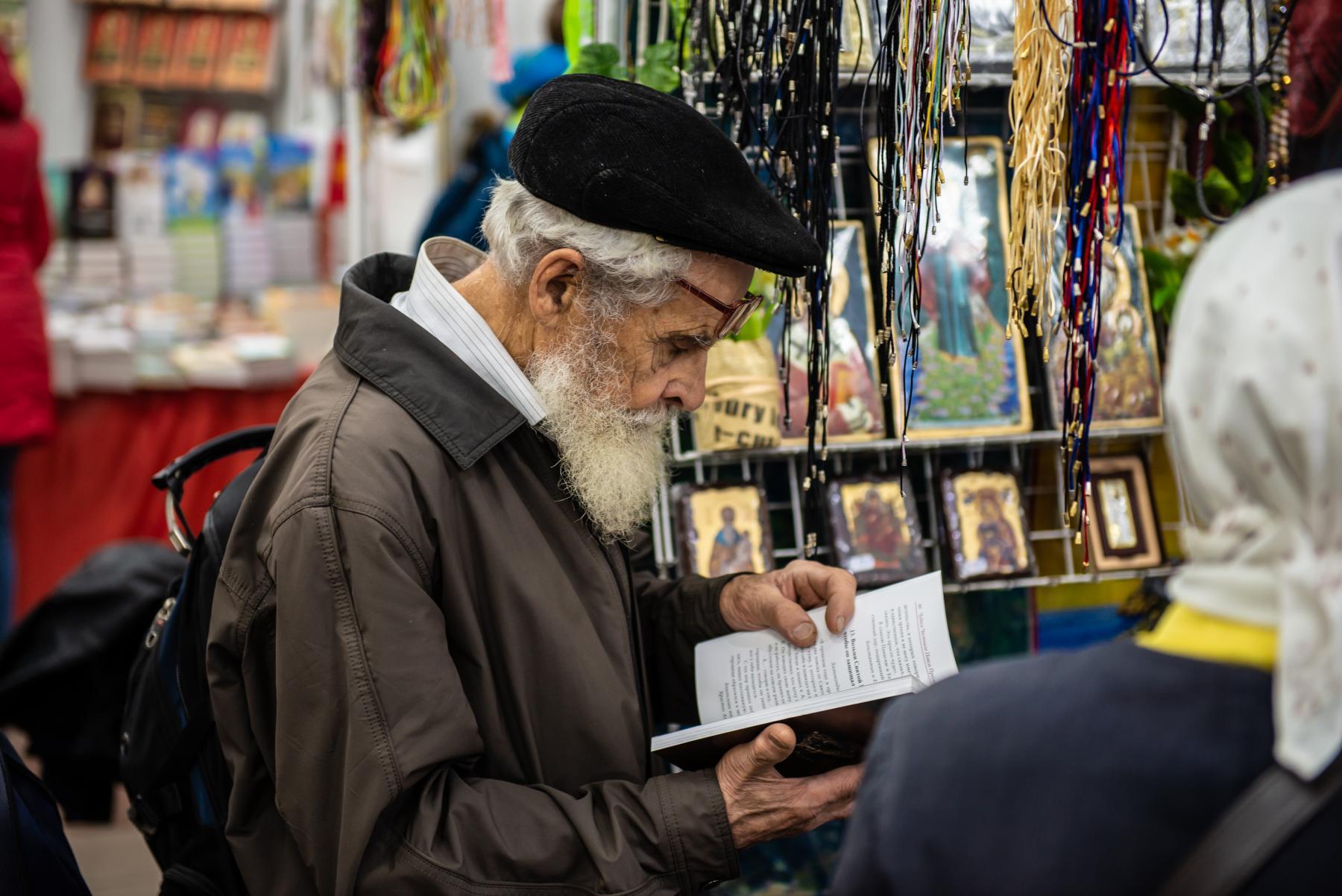 Фото «Этот Псалтырь – просто бестселлер!»: как новосибирцев зазывают на православную ярмарку 7