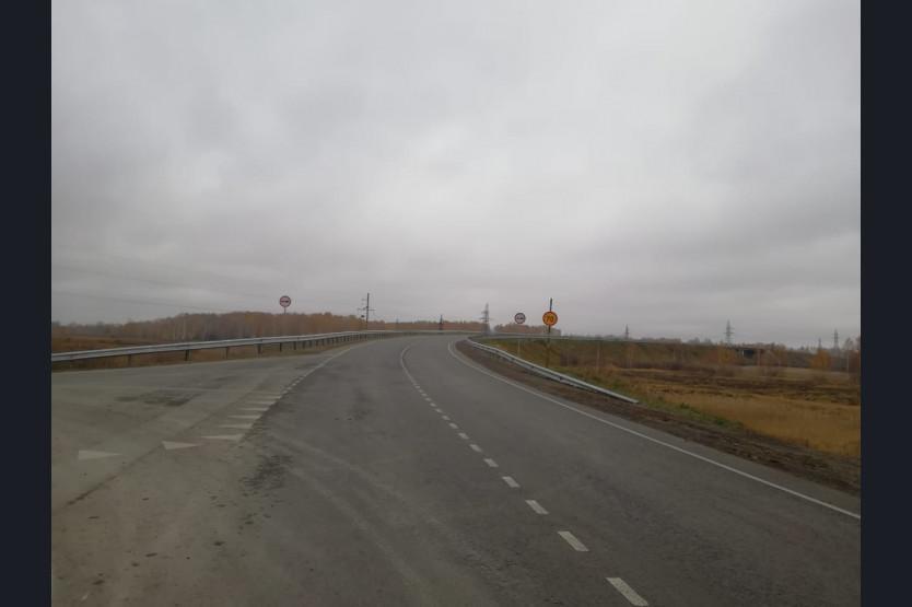 фото Дорогу в Чулым отремонтировали по нацпроекту в Новосибирской области 2