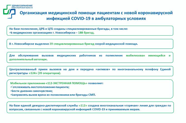 фото Коротко: 5 тезисов из доклада главы минздрава о ситуации с COVID-19 в Новосибирске 3