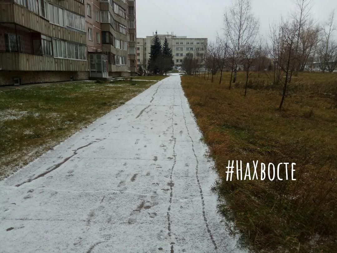 Фото Академгородок в Новосибирске засыпало снегом 3
