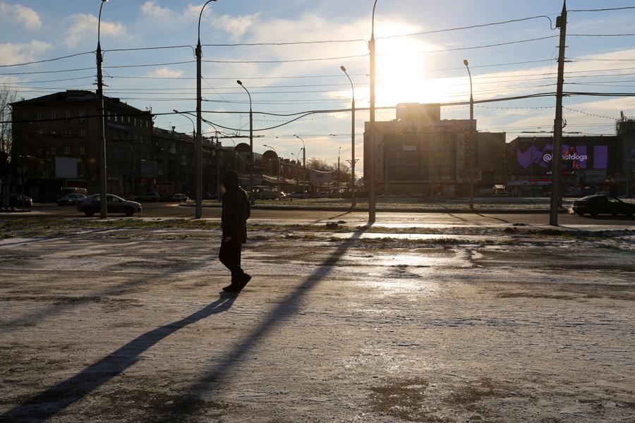 фото Первые морозы в Новосибирске: смотрим, как укутались горожане 4