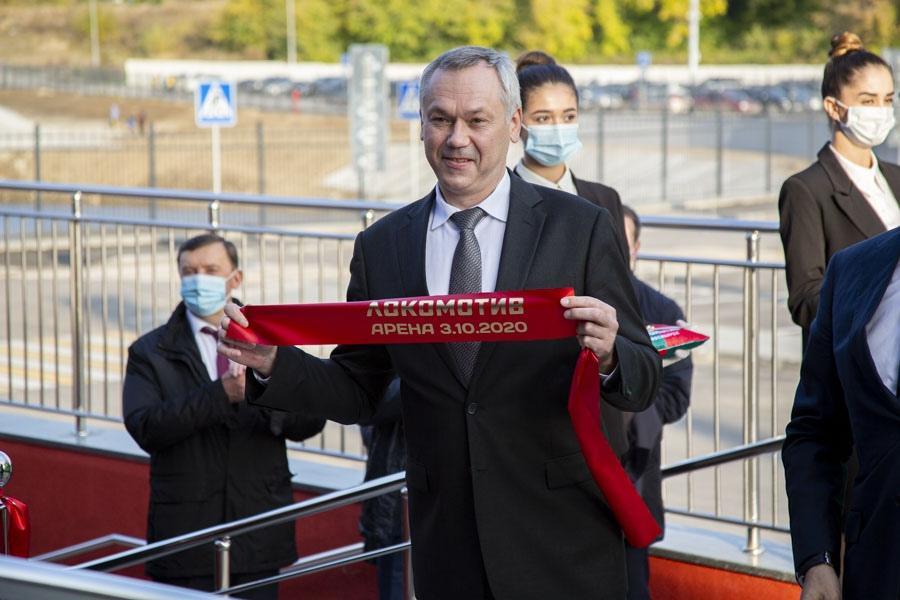 Фото Подробности торжественного открытия в Новосибирске крупнейшего за Уралом волейбольного центра международного уровня 3