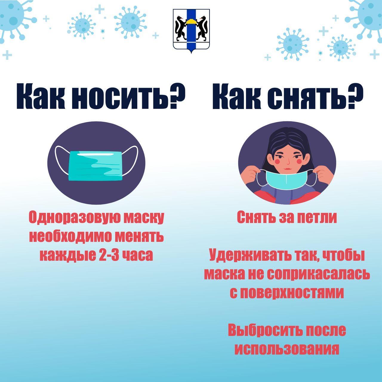 фото Масочный режим в Новосибирске в пяти картинках 4
