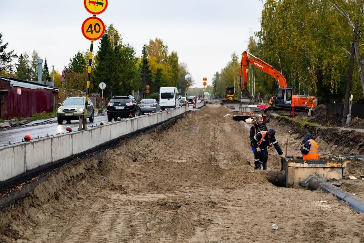 Фото «Заколебали эти пробки 24/7»: водители и пешеходы проклинают перекопанные из-за ремонта улицы Новосибирска 6