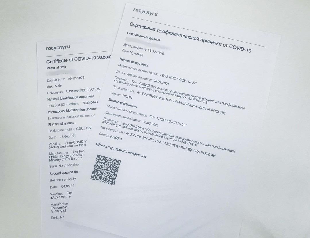 Фото Вместо QR-кода: как пройти на концерты, фитнес и в клубы при обязательной вакцинации в Новосибирской области 2