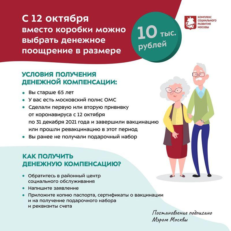 Фото 10000 рублей пенсионерам за вакцинацию от COVID-19: кому положена новая выплата – список 3