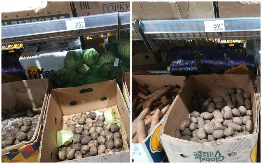Фото Эксперт объяснил резкий рост цен на картофель в Новосибирске 2