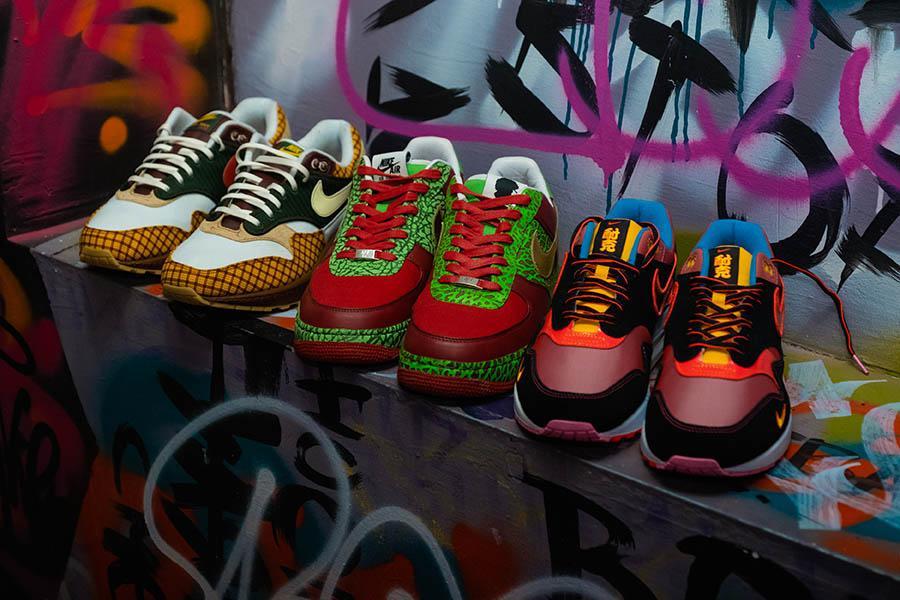 """Фото «Ты можешь быть в лохмотьях, но кроссовки скажут о тебе всё»: коллекционеры из Новосибирска привезут легендарную обувь на премьеру фильма «Майкл и его """"джорданы""""» 5"""