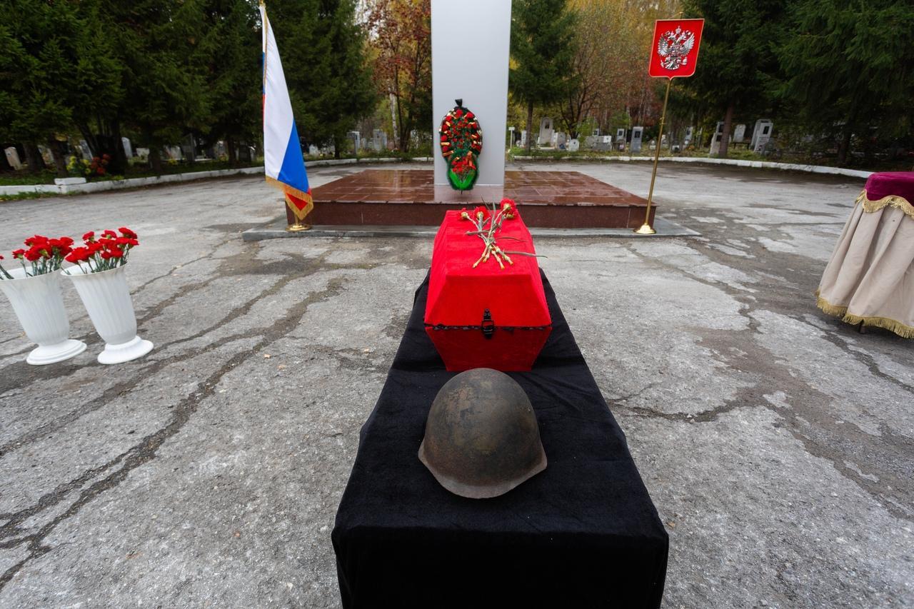 Фото «Вернулся домой через 80 лет»: в Новосибирске в последний путь проводили участника Великой Отечественной войны 2