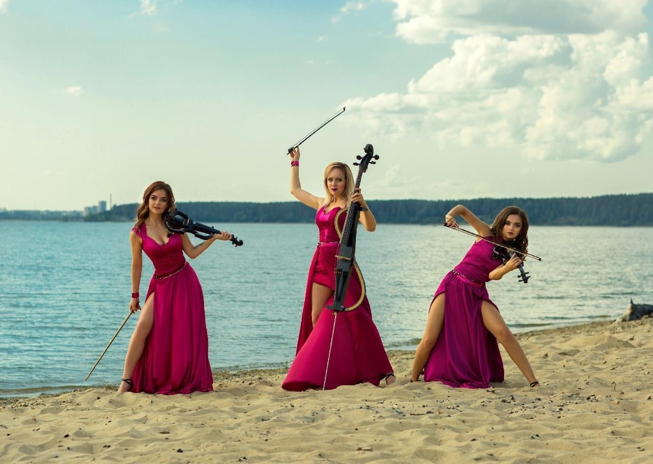 Фото Группа Silenzium сняла страстный клип на берегу Обского моря 2