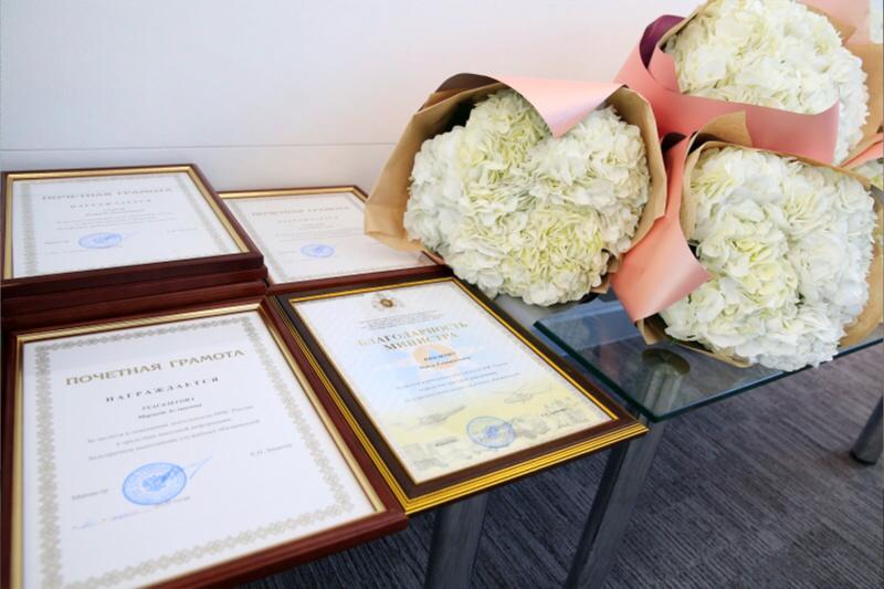 Фото Глава МЧС России наградил руководителя пресс-службы новосибирского главка 2