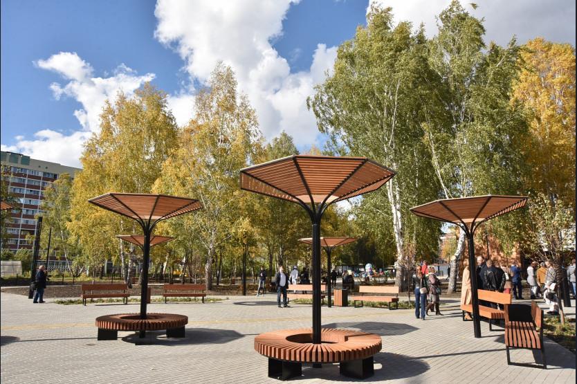 Фото В Новосибирске открылся Затулинский дисперсный парк 3
