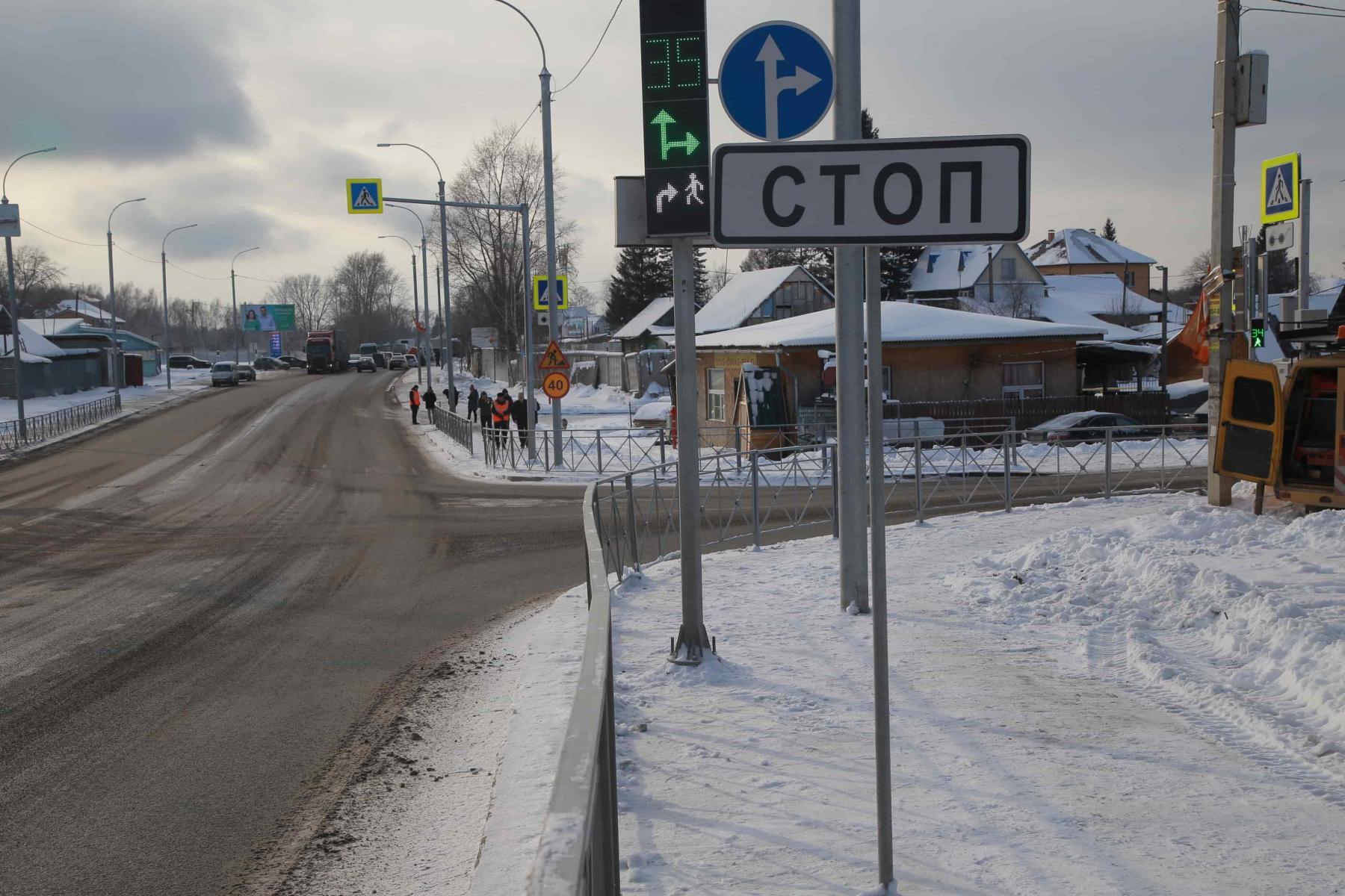 Фото Пробка длиной в два года: почему ремонт улицы Кедровой в Новосибирске превратился в ад для автомобилистов 2
