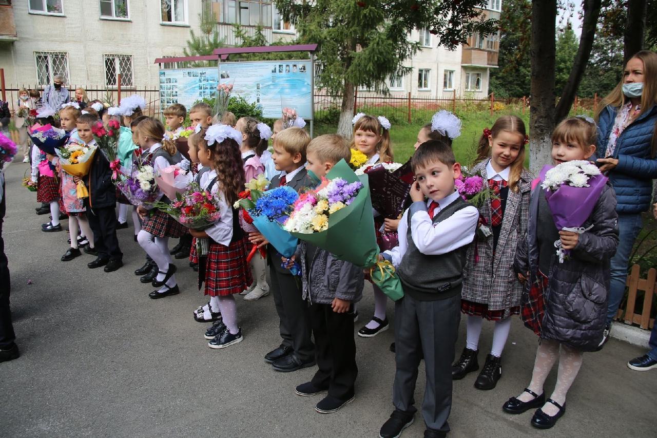 Фото Торжественные линейки в честь 1 Сентября начались в Новосибирске 2