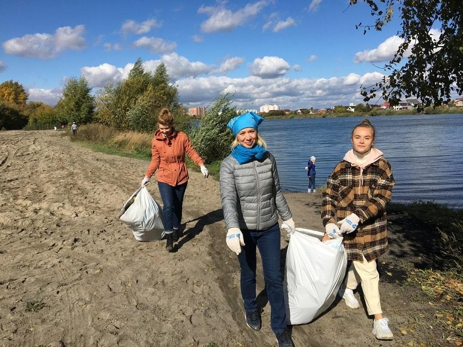 Фото Банк Уралсиб в Новосибирске принял участие во Всероссийской  акции «Вода России» 2