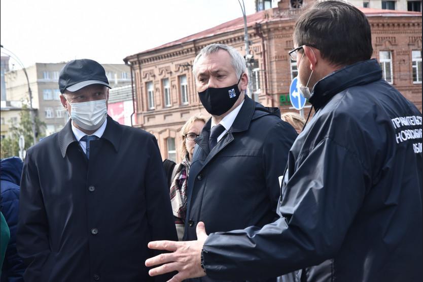 Фото Травников заявил о необходимости нового подхода к ремонту дорог в Новосибирске 2