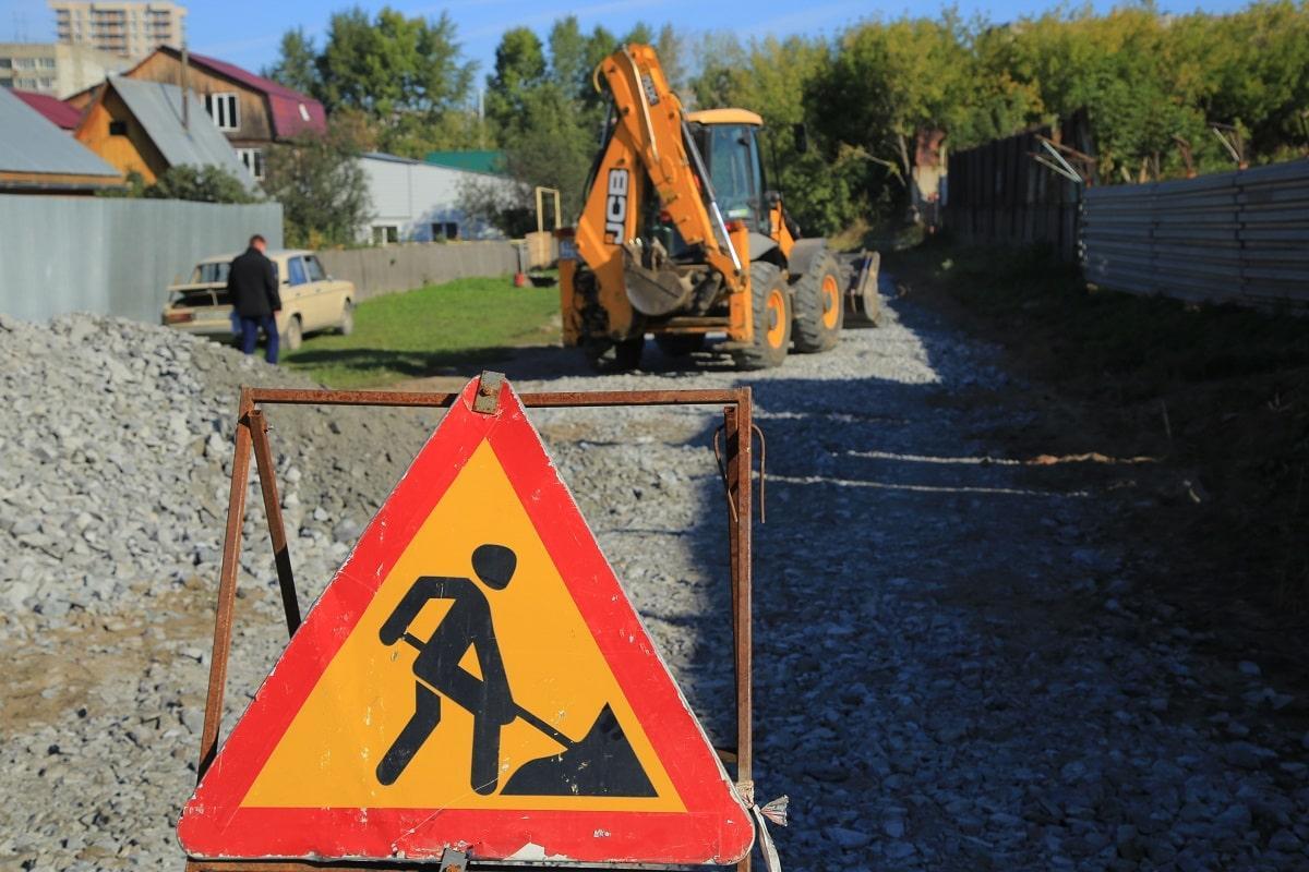 Фото До конца октября в Новосибирске отремонтируют 94 проблемных участка дорог частного сектора 3