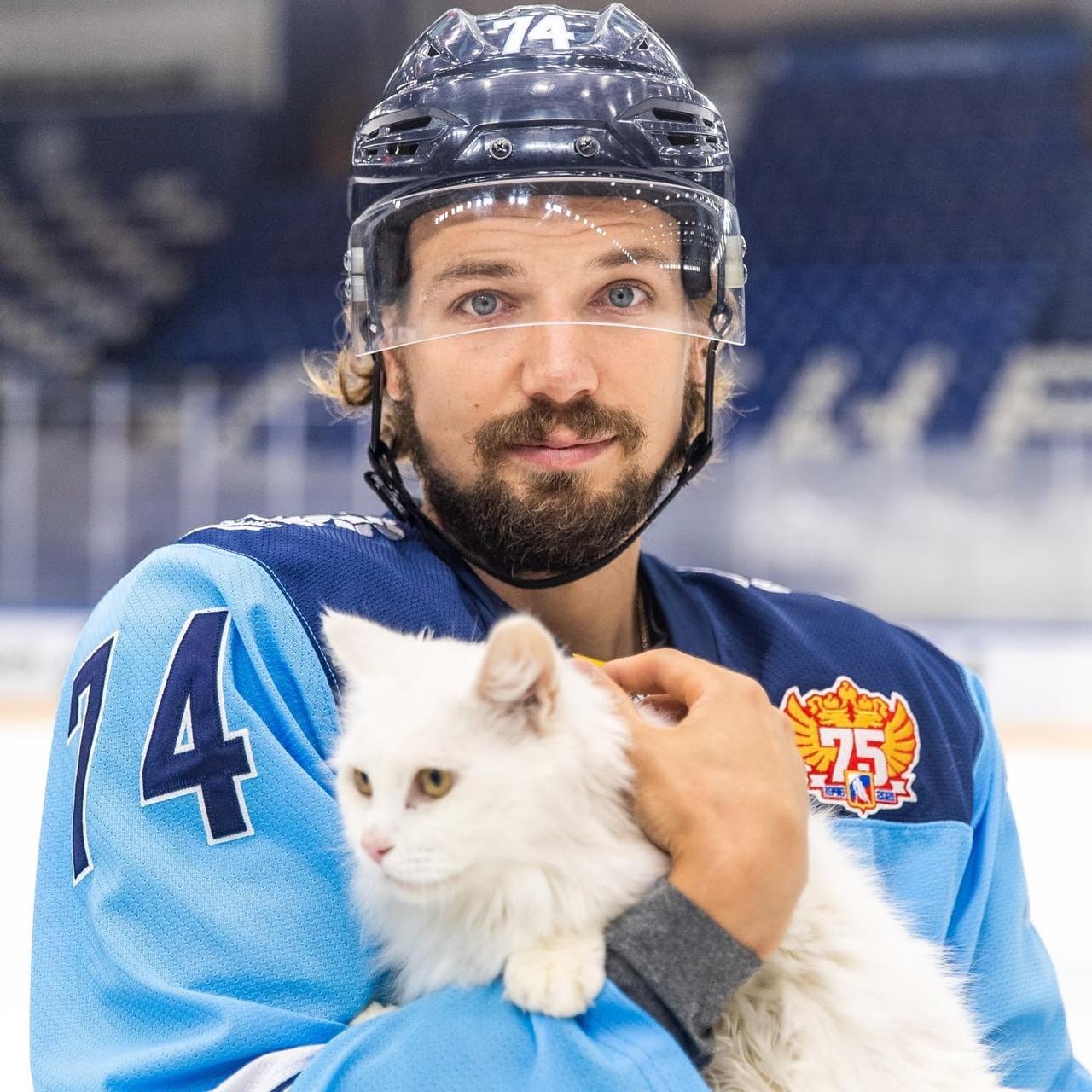 Фото Хоккеисты «Сибири» устроили фотосессию с бездомными животными в Новосибирске 2